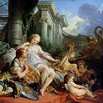 Francois Boucher - Rinaldo and Armida
