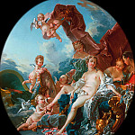 Francois Boucher - Toilet of Venus