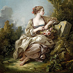 Francois Boucher - The Gardener
