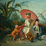 Francois Boucher - Chinese Fishing