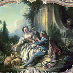 The Gallant Shepherd, Francois Boucher