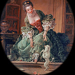 Francois Boucher - The Docile Dog