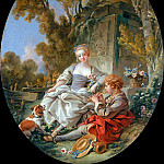 Francois Boucher - The Flageolet Player
