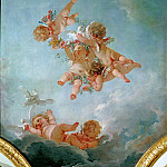 Francois Boucher - Spring, from a series of the Four Seasons