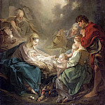 Adoration of the Shepherds, Francois Boucher