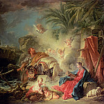 Francois Boucher - The Rest on the Flight into Egypt