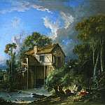 Mill at Charenton, Francois Boucher