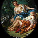 Francois Boucher - Companions of Diana
