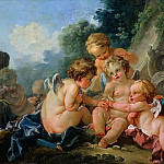Francois Boucher - Cupids in Conspiracy