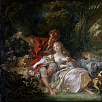 Shepherd and Shepherdess, Francois Boucher