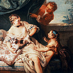 Francois Boucher - The unexpected Visitor
