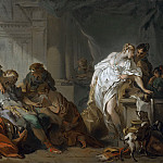 Death of Meleager, Francois Boucher