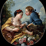 THE BIRD NESTERS, Francois Boucher