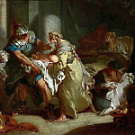 Young Pyrhhus Saved, Francois Boucher