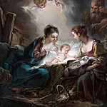 Francois Boucher - The Holy Family