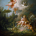 Francois Boucher - The target of love