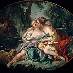 Sylvia and Phillis, Francois Boucher