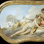 Francois Boucher - Venus and Mercury Instructing Cupid
