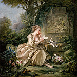 Francois Boucher - The letter