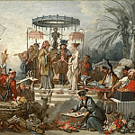 Francois Boucher - Cartoons for tapestries - Chinese Wedding