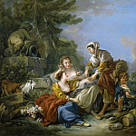 Francois Boucher - The Fortune Teller