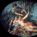 Francois Boucher - Sylvia Rescued by Aminta