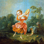 Francois Boucher - Little dancer