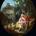 Francois Boucher - The Agreeable Lesson