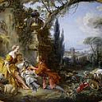 Francois Boucher - the delights of life in the country