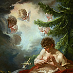 Francois Boucher - Saint John the Baptist