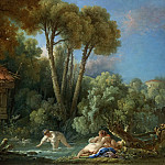 Francois Boucher - The bathers