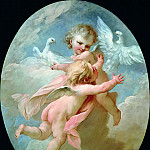 Francois Boucher - Angels and Doves