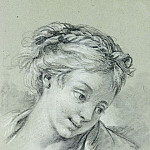 Francois Boucher - Head of a Girl2