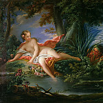 Francois Boucher - The Bather Surprised