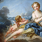 Francois Boucher - THE MUSE ERATO
