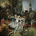Rest on the hunt, Francois Boucher