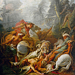 Tiger Hunt, Francois Boucher