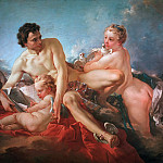 Francois Boucher - The Education of Cupid