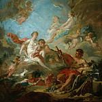 Venus in the Workshop of Vulcan, Francois Boucher