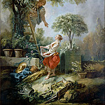 Francois Boucher - The cherry gatherers