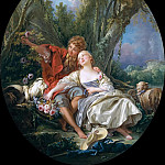 Francois Boucher - Shepherd and Shepherdess