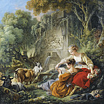 Francois Boucher - The Reading Of The Letter