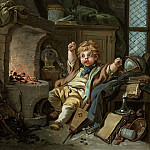 The Little Alchemist, Francois Boucher