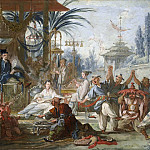 Francois Boucher - Cartoons for tapestries - Chinese Dance