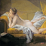 Nude on sofa , Francois Boucher