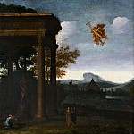 Landscape with Open Portico and Flying Mercury [Attributed]