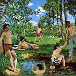 Frederic Bazille - Summer merriment