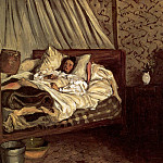 Frederic Bazille - The improvised sickbed