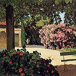 Frederic Bazille - Terras in Meric