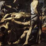 Girolamo Muziano - Martyrdom of Saints Processus and Martinian